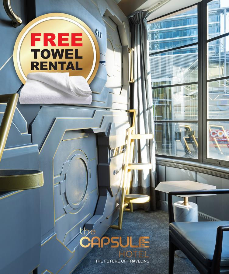 The Capsule Hotel - Accommodation VIC