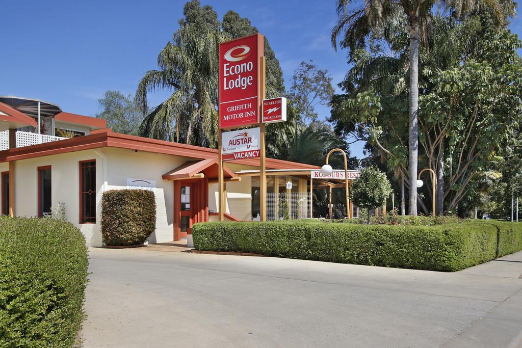 Econo Lodge Griffith Motor Inn - Accommodation VIC